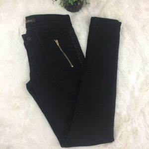 {James Jeans} Trixie Black Studded skinny jeans